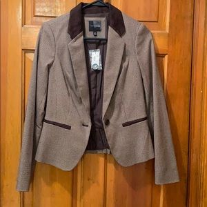 Brown Blazer with Elbow Patches